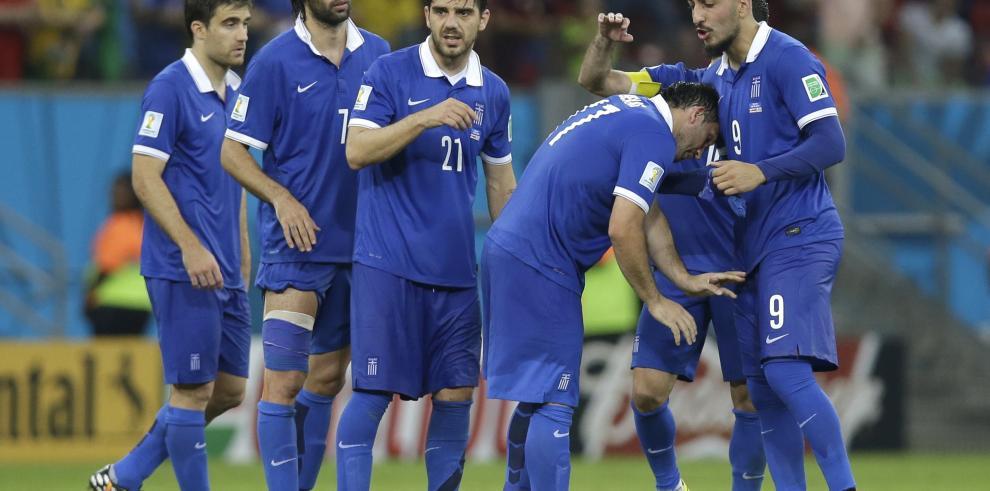 Selección griega donará primas del Mundial para construir centro deportivo