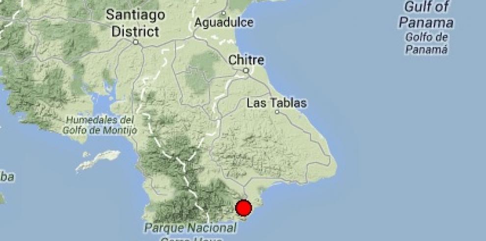 Sismo sacude la provincia de Los Santos
