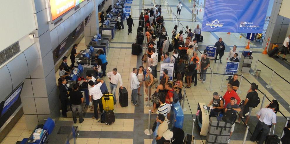 Tocumen registra récord en el tráfico de pasajeros en abril