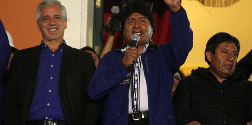 Evo Morales logra rotundo triunfo en Bolivia para un tercer mandato