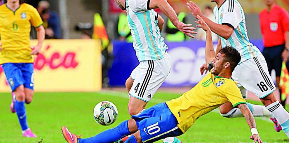 Brasil le amarga la fiesta a Argentina