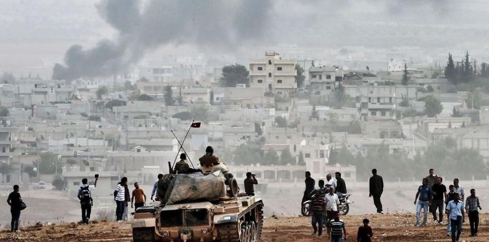 La ONU teme masacre si Kobane cae en manos del Estado Islámico
