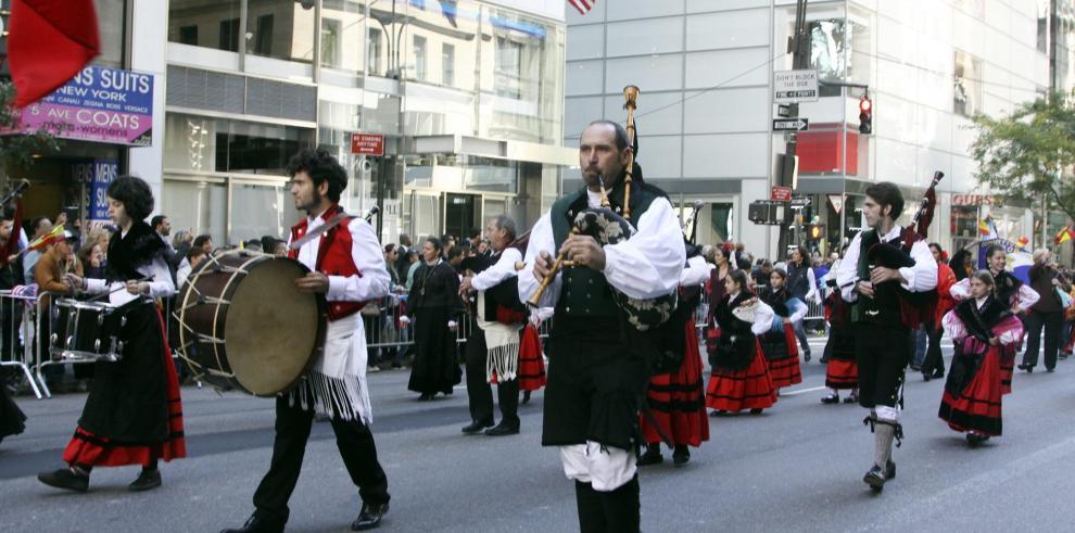 Galería de la celebración del Día de La Hispanidad, en Nueva York
