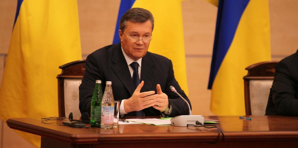 Yanukóvich: elecciones presidenciales amenazan a Ucrania con desintegración