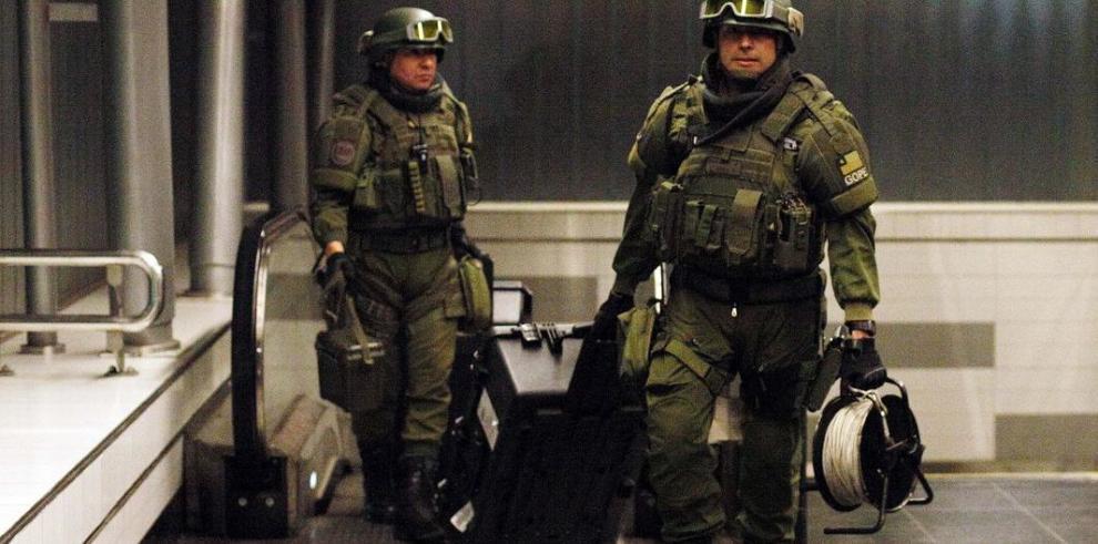 Carabineros detuvo a 3 personas con explosivos en Antofagasta