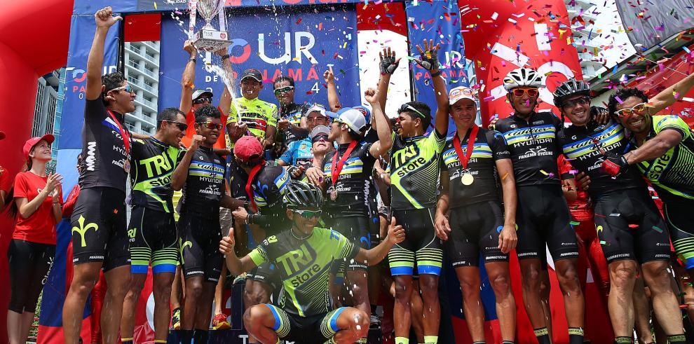 Gómez se proclamó tricampeón del Tour de Panamáal ganar la décima versión