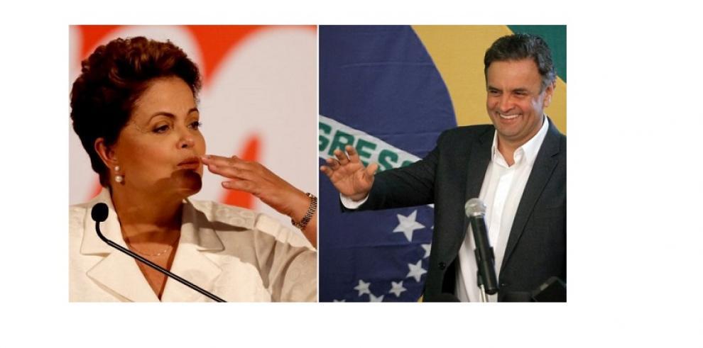 Brasil inicia elección de presidente con Rousseff levemente favorita