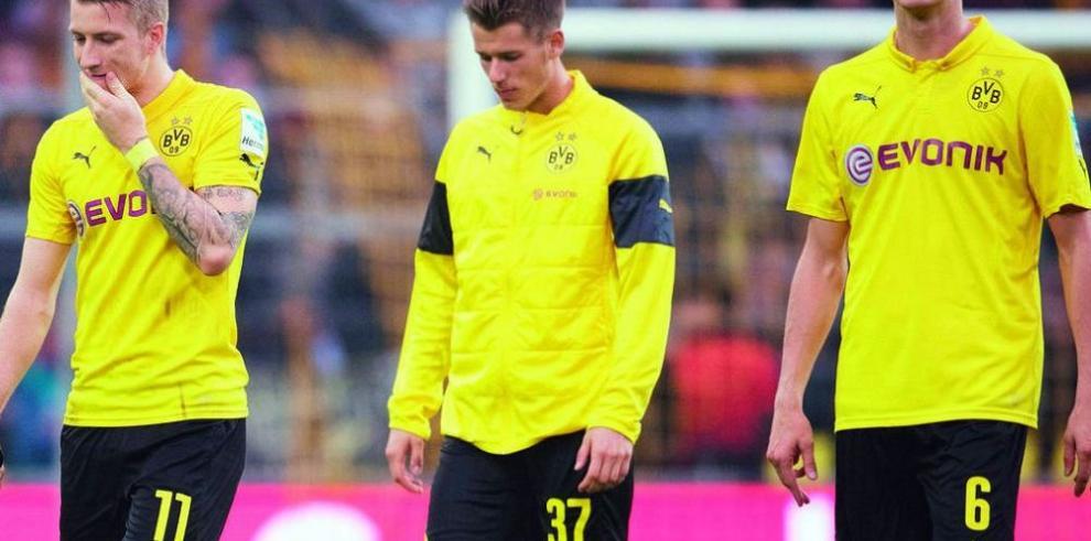 Borussia Dortmund cae ante Hannover y agrava su crisis