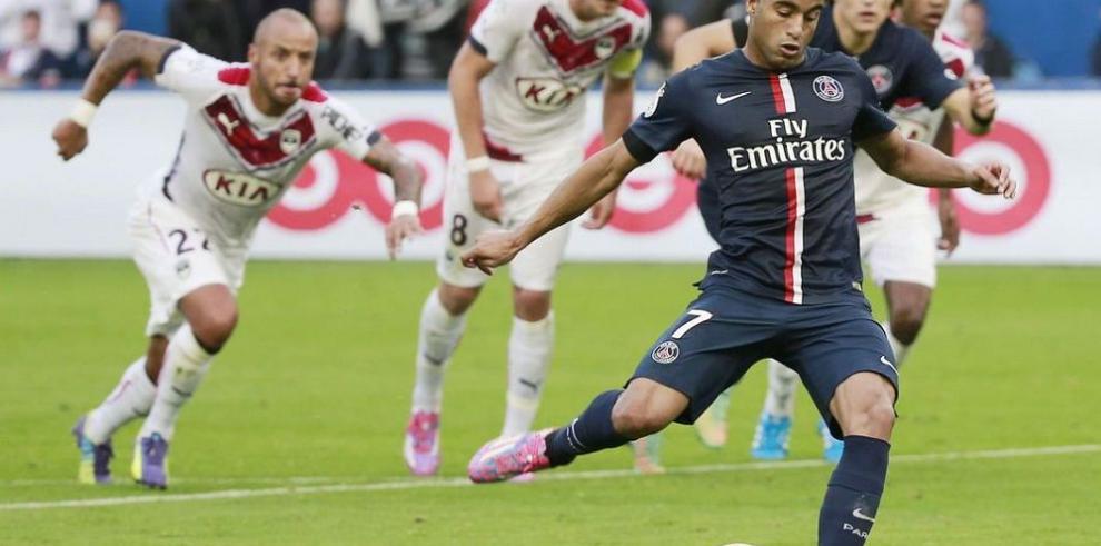 París Saint Germain vence al Burdeos y se acerca al líder