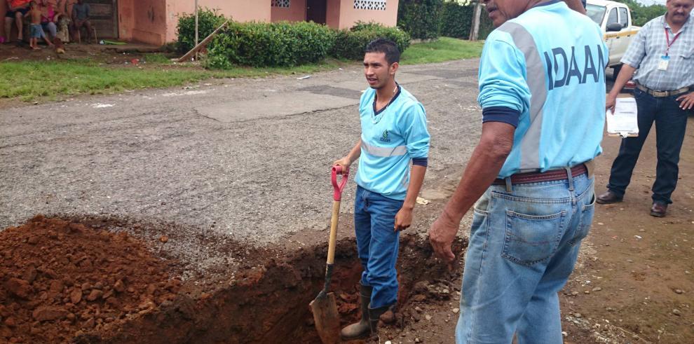 El Idaan realiza cortes masivos de agua en Chiriquí