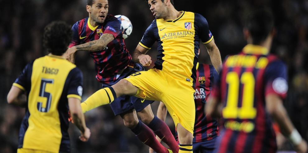 Diego Costa sufre lesión muscular