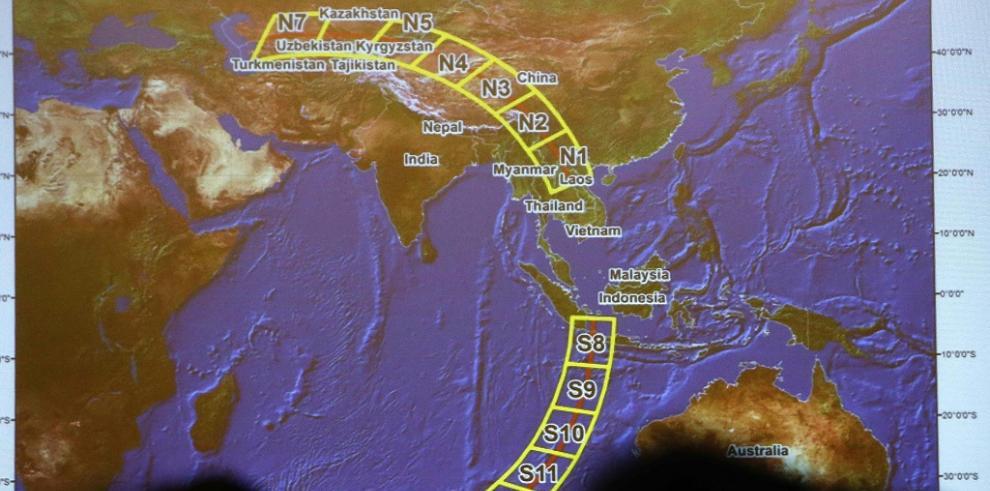 La búsqueda del vuelo MH370 se intensifica en el Índico