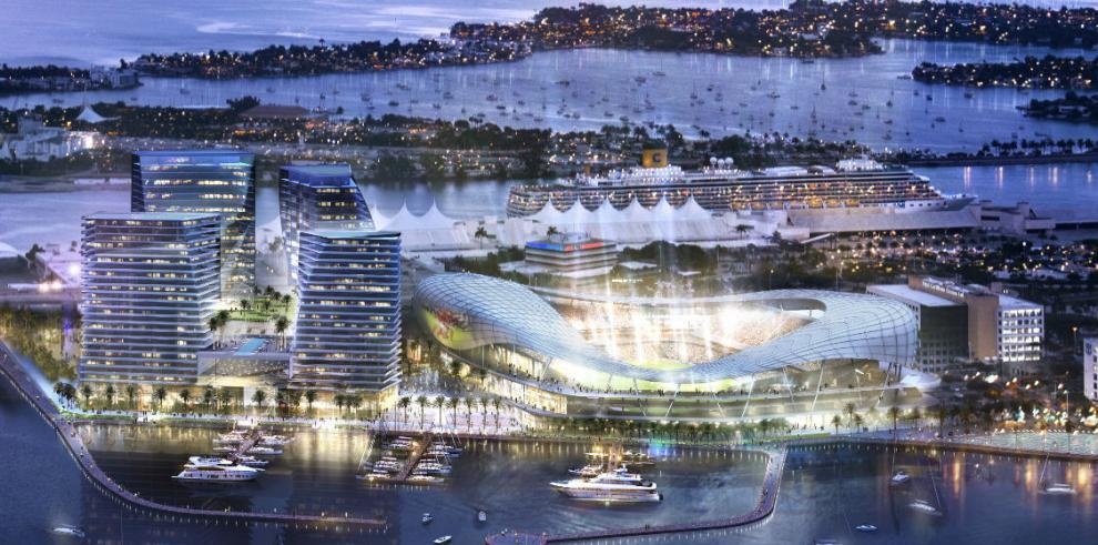 Revelan diseño del estadio de Beckham en Miami