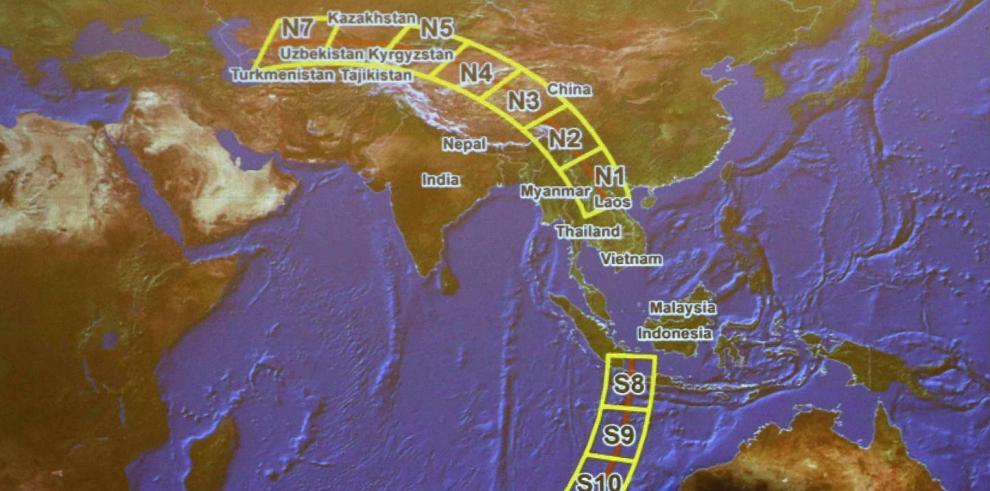 Malasia recibe nuevas imágenes de satélite francés
