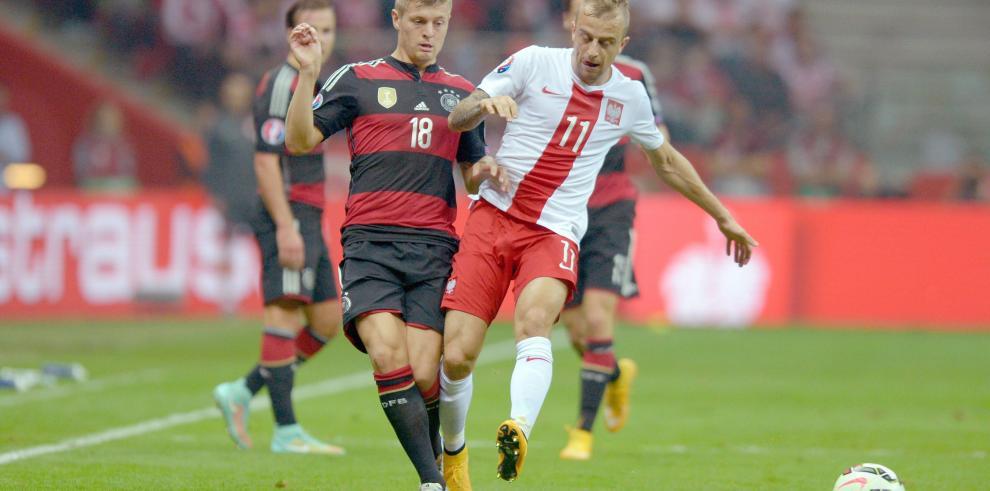 Polonia venció a Alemania, flamante campeón del mundo