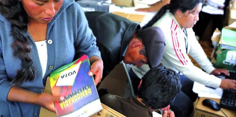 Evo Morales vaticina 'mazazo' en las elecciones