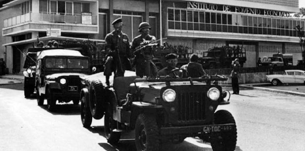 Panamá, dividida a 46 años del golpe de 1968