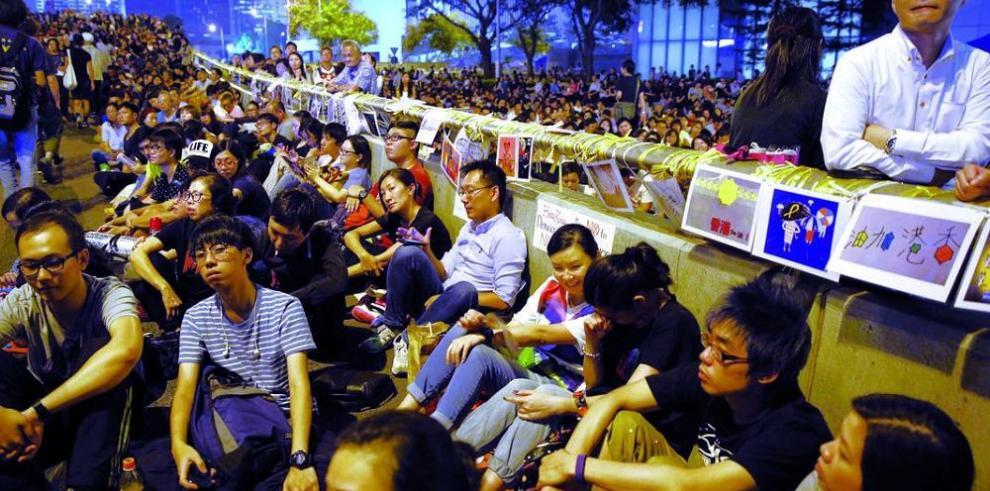 Las protestas reviven en Hong Kong