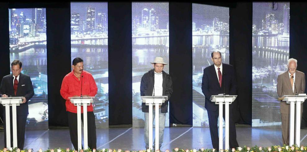 La noche que todos los candidatos presidenciales pudieron debatir