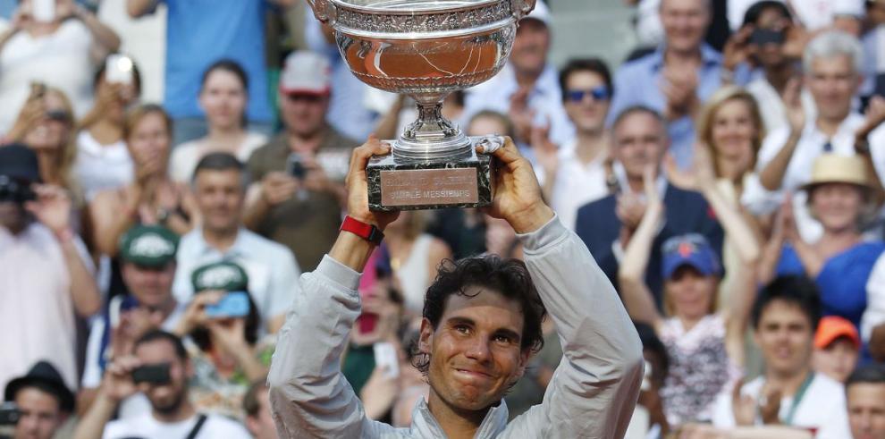 Rafael Nadal vuelve a reinar en Francia