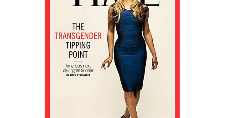 Laverne Cox, primera transexual en ser portada de la revista Time