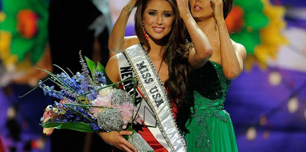 Nia Sánchez, latina elegida Miss Estados Unidos 2014