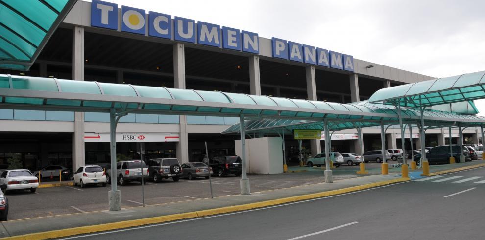 Taxistas protestaron en el aeropuerto de Tocumen