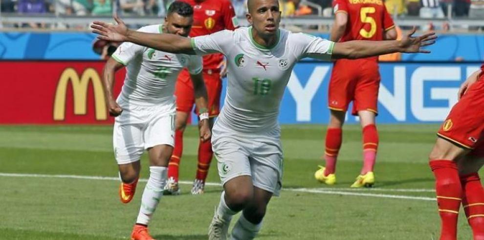 Victoria para Bélgica ante Argelia 2-1