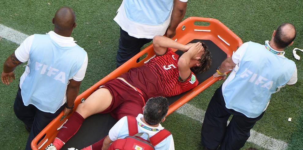 Coentrao fuera del Mundial por lesión