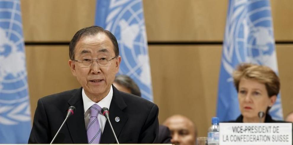 Ban Ki-moon alarmado por la multiplicación de crisis, como la de Irak