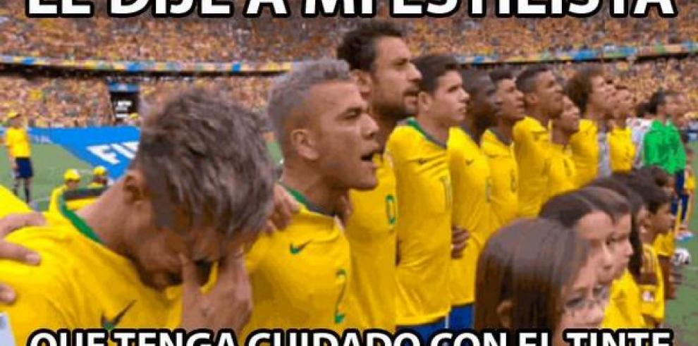 Memes del partido Brasil-México