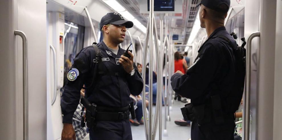 Agentes del Metro capturan 25 personas en 5 meses