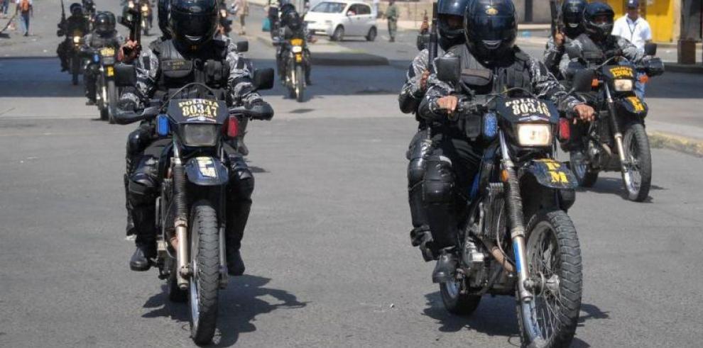Panameños capacitan a policías motorizados de Costa Rica y El Salvador