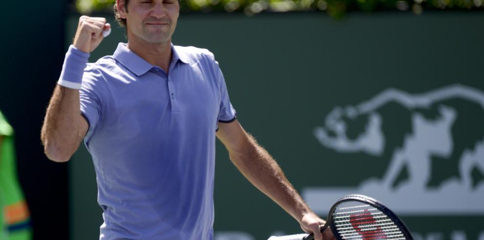 Federer, Estoy jugando con más libertad y confianza