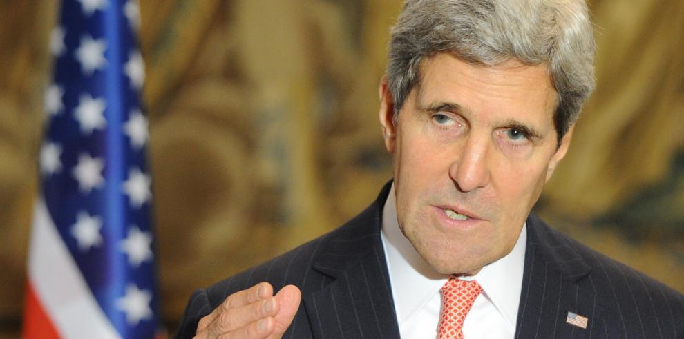 Kerry: proceso de paz en Medio Oriente está
