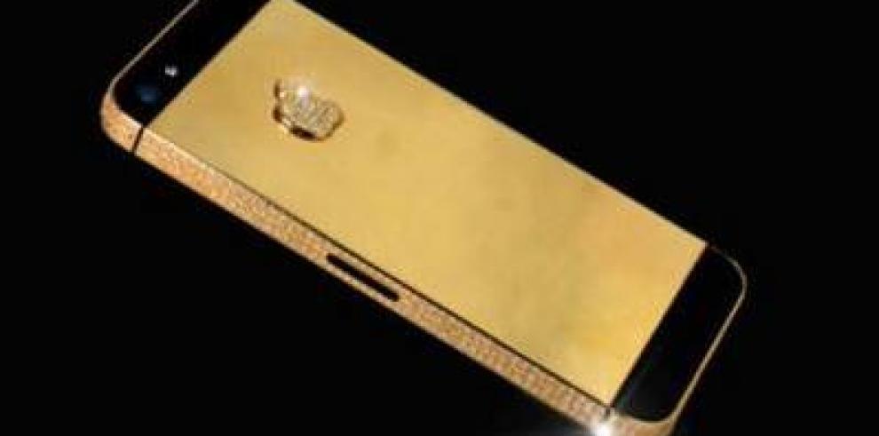 Diseñan Iphone 5S de oro y diamantes de un millón de dólares