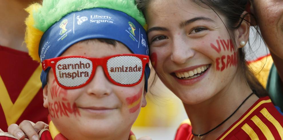 España se despide de Brasil 2014 con goleada a Australia 3-0