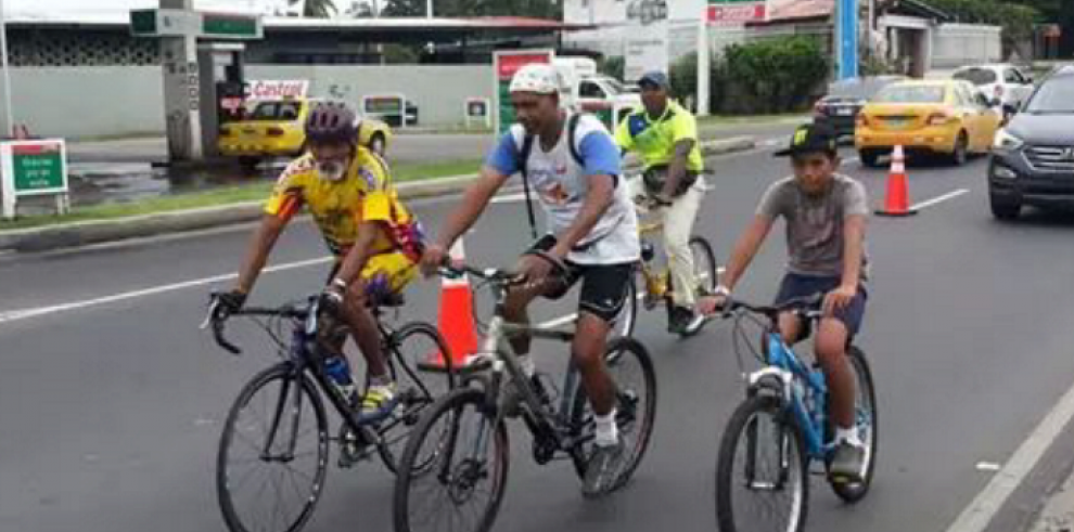 Ciclovía en la ciudad de Panamá es un hecho