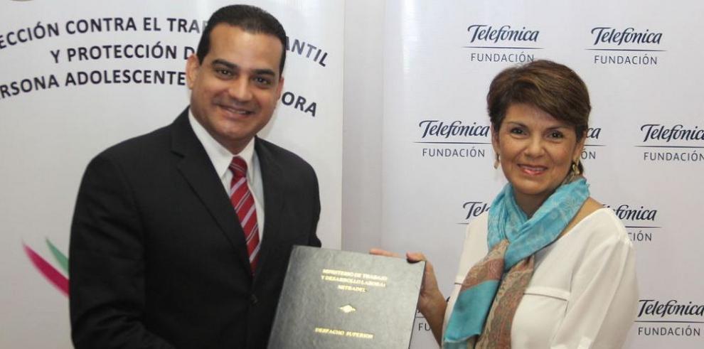 Mitradel y Telefónica firman acuerdo