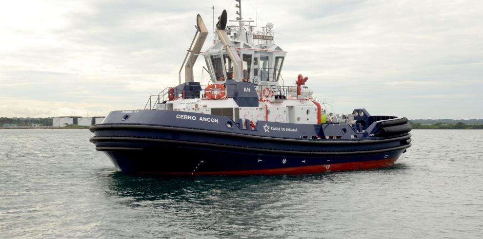 Llega al país el remolcadorCerro Ancón, para completar la nueva flota
