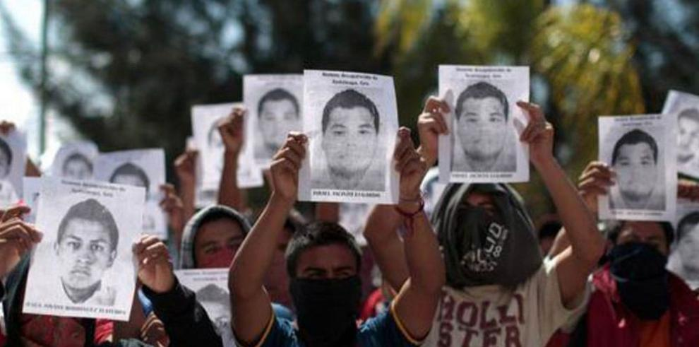 Presión internacional por las desapariciones