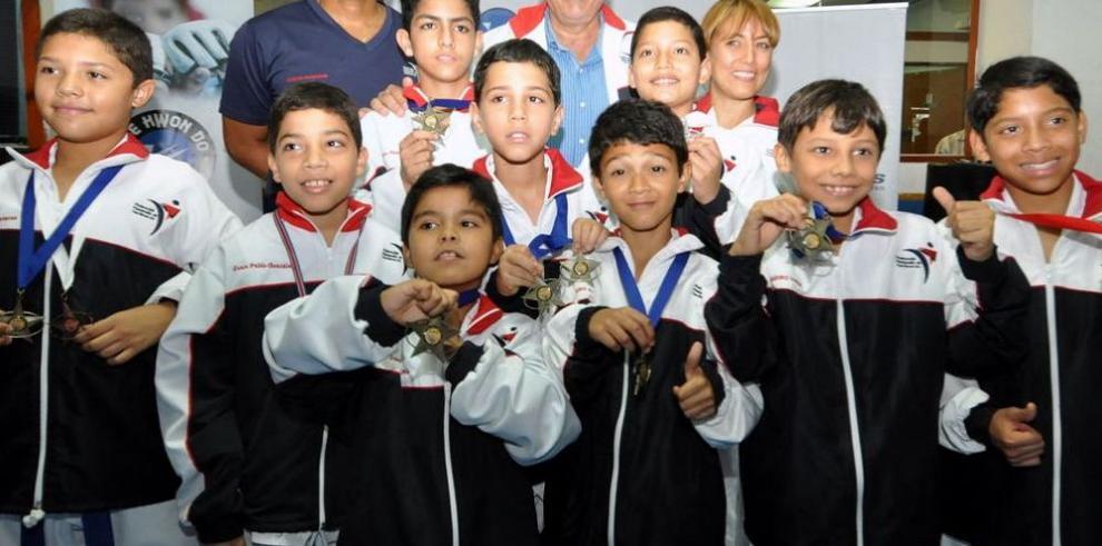 Semillero del Taekwondo ya está dando frutos