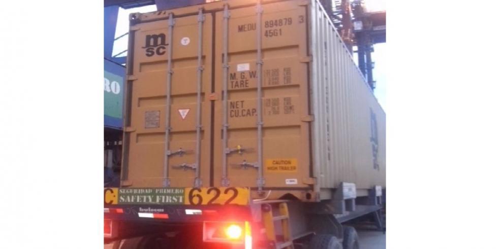 Decomisan 112 paquetes con cocaína en Puerto de Colón