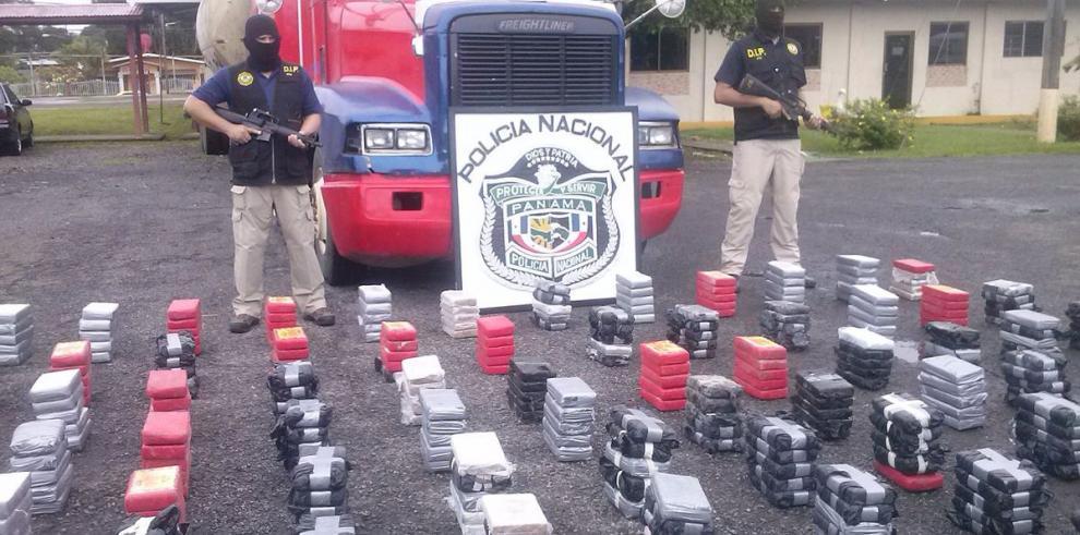 Decomisan 430 kilos de cocaína en Guabalá