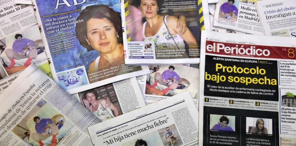 Empeora estado de enferma de ébola en España
