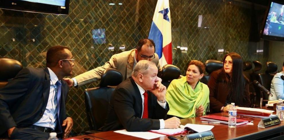 Asamblea inicia proceso contra Moncada Luna