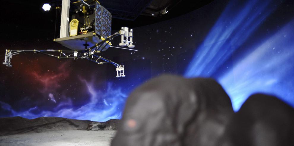 Módulo de sonda espacial europea se posa en cometa