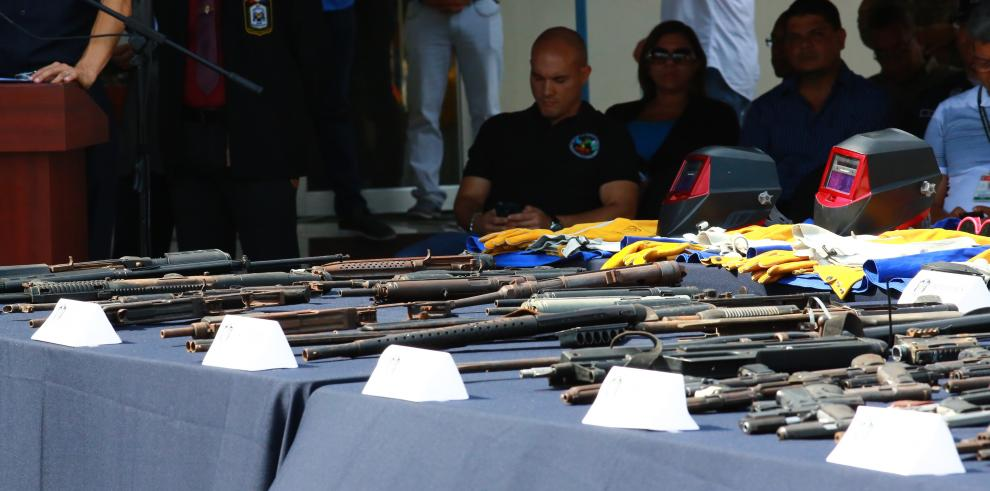 60% de delitos se cometen con armas que tienen permisos, según Minseg
