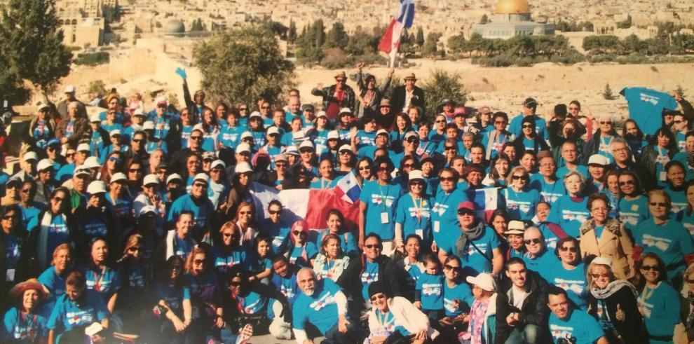 200 panameños completan recorrido en Israel