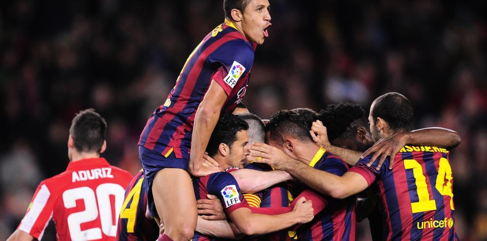 Barça recupera autoestima con remontada ante el Athletic